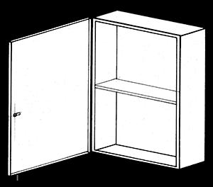 NEMA 1 Spare Fuse Cabinet