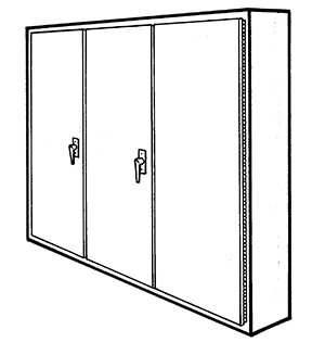NEMA Type 12 Multi Door Freestanding Enclosure