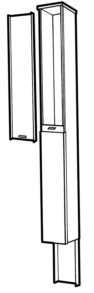 NEMA 3R Utility Pedestal