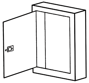 NEMA 1 Telephone Cabinet