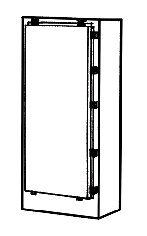 NEMA Type 4 Freestanding Enclosure