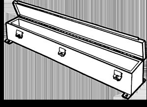 NEMA 4 JIC Hinge Cover Clamp Wireway