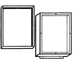 NEMA 4 JIC Aluminum Screw Cover Enclosure